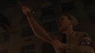 Hitler Youth Member waving flag