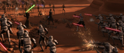 Sergeant Booster, 2nd Battle of Geonosis