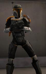 Booster Skirata - Orange 04