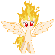 Twilicorn is on fire by mlartspecter-d5yqm2i