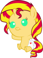 Sunset shimmer foal