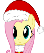 Christmas fluttershy by pink1ejack-dareezn