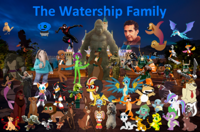 The Watership Family Wallpaper