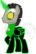 Discord pony the green lantern by motownwarrior01-da4n3tj