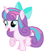 Flurry Heart as a Juvenile