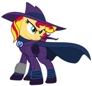 Sunset do well s new look by joeycrick-d9u1hul