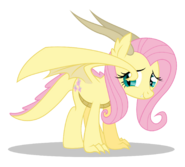 Dracony fluttershy by dragonchaser123-dbg6m3h