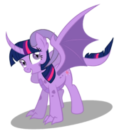 Dracony twilight sparkle by dragonchaser123-dbg6ls3