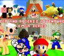 Sunset and Rogers's Adventures in SMG4 Series