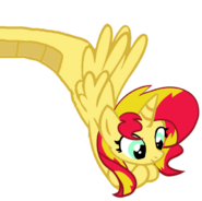 Sunset shimmer alicorn by rdlovergirl-d8e9glc - Copy