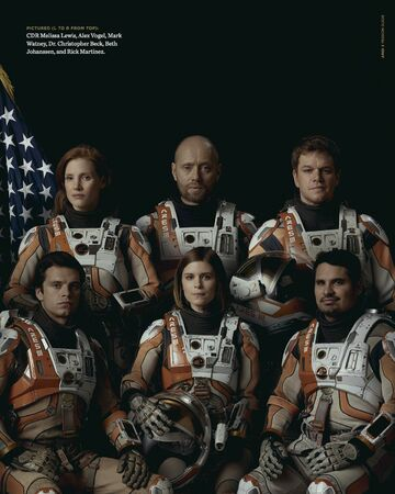 Ares Iii Film The Martian Wikia Fandom
