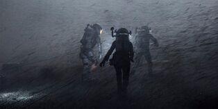 Ares III dust storm evac