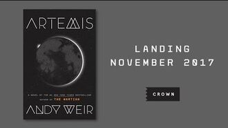 Andy Weir (THE MARTIAN) talks about his new book ARTEMIS