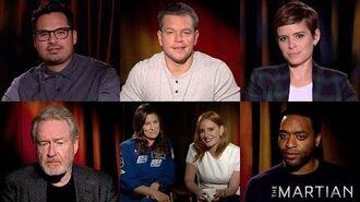 The Martian NASA Space Q&A Video HD 20th Century FOX