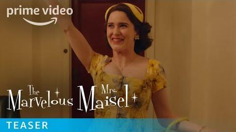 The Marvelous Mrs. Maisel Season 2 - Teaser Prime Video