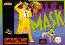 Box Art The Mask SNES