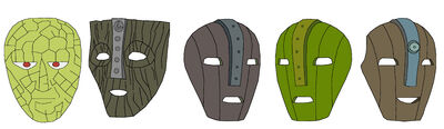 The mask all versions color by hyperomegasonic-d5pgjfm