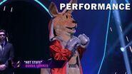 """Kangaroo sings """"Hot Stuff"""" by Donna Summer THE MASKED SINGER SEASON 3"""