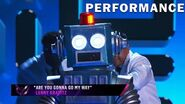 "Robot sings ""Are You Gonna Go My Way"" by Lenny Kravitz THE MASKED SINGER SEASON 3"