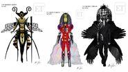 Original-Bee Alien Raven