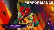 "Taco sings ""Bossa Nova Baby"" by Elvis Presley THE MASKED SINGER SEASON 3"