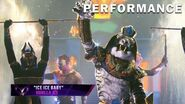 """White Tiger sings """"Ice Ice Baby"""" by Vanilla Ice THE MASKED SINGER SEASON 3"""