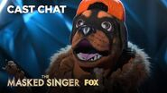 The Rottweiler Is Unmasked It's Chris Daughtry! Season 2 Ep