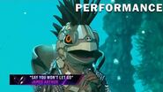"""Turtle sings """"Say You Won't Let Go"""" by James Arthur THE MASKED SINGER SEASON 3"""