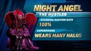 Night Angel's stats
