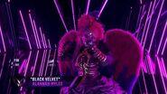 "Night Angel sings ""Black Velvet"" by Alannah Myles THE MASKED SINGER SEASON 3"