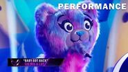 """Bear sings """"Baby Got Back"""" by Sir Mix-a-Lot THE MASKED SINGER SEASON 3"""
