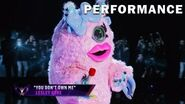 "Miss Monster sings ""You Don't Own Me"" by Lesley Gore THE MASKED SINGER SEASON 3"