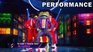 "Frog sings ""U Can't Touch This"" by MC Hammer THE MASKED SINGER SEASON 3"