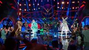 Group Performance 'Make Way' by Aloe Blacc THE MASKED SINGER SEASON 1
