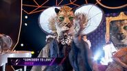 "Leopard sings ""Somebody to Love"" by Queen - THE MASKED SINGER - SEASON 2"