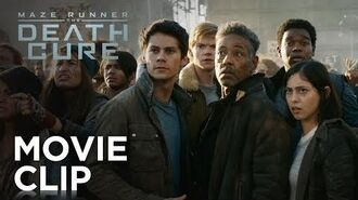 "Maze Runner The Death Cure ""The Wall"" Clip 20th Century FOX"