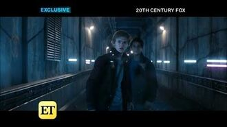 -VOSTFR- Deleted Scene ~Gally, Newt & Thomas outrun a train~ Maze Runner The Death Cure