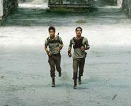Thomas & Minho running