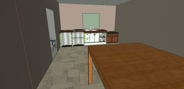 Devil's Abode- Kitchen;dining room