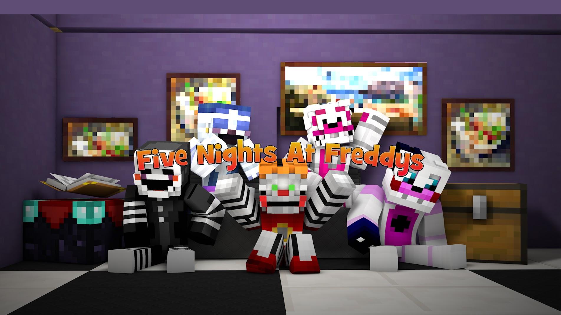Image - Wiki-background | The Minecraft FNAF Wiki | FANDOM