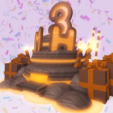 Awe Inspiring Caramel Birthday Cake The Miners Haven Wikia Fandom Funny Birthday Cards Online Chimdamsfinfo