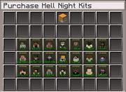 Hell Night-kit shop