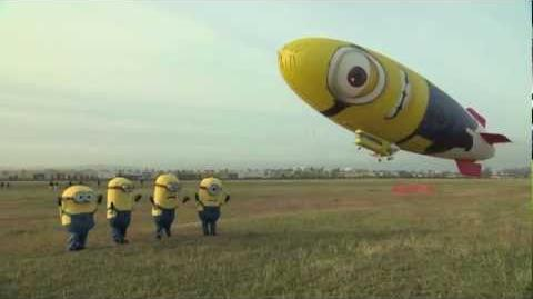 Despicable Me 2 - Despicablimp Time Lapse and Launch