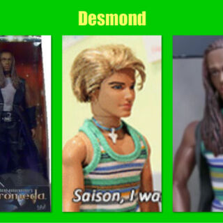 Tyr Anasazi + Blaine's Shirt = Desmond Irie
