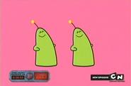 Dancing aliens