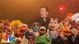 """Jimmy & The Muppets Say Goodbye To """"Late Night"""" (w """"The Weight"""" from """"The Last Waltz"""")"""