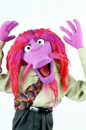Image result for muppet with dreads