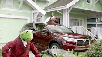 Big Game Ad Starring Terry Crews and the Muppets 2014 Toyota Highlander