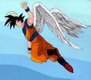 Goku with wings