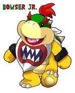 Cartoon Bowser Jr